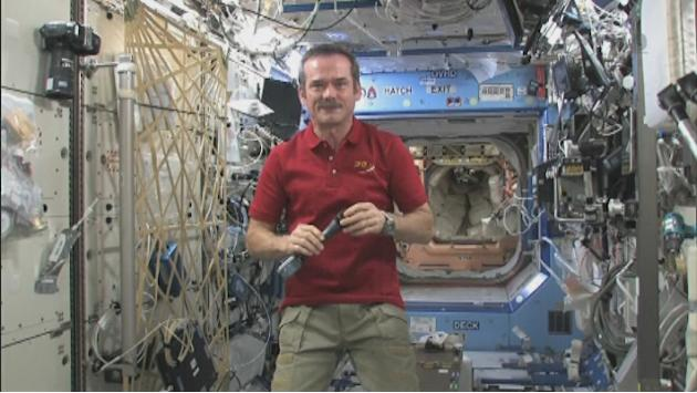 Chris Hadfield becomes first Canadian to command the ISS