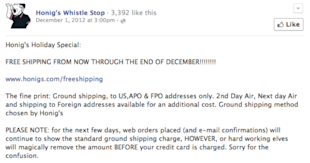 7 Ideas To Boost Online Holiday Sales In 2013 With Social Media image hoing whistle shop social media 600x316