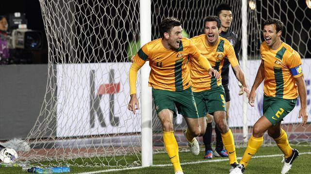 World Football - Australia maul Taiwan to qualify for 2013 East Asian Cup