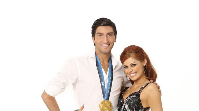 Olympic gold medalist and World Figure Skating champion Evan Lysacek has been skating since the age of 8, when he received a pair of hockey skates. He teams with Anna Trebunskaya, who returns for her fifth season.