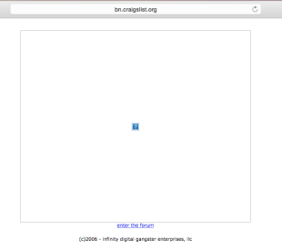 Craigslist Down For Hours After DNS Attack Forced Domain Hijacking image Craigslist Down