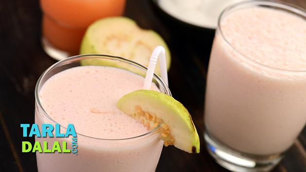 Guava Smoothie by Tarla Dalal