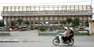 Ho Chi Minh City's 7th military zone stadium is seen in 2007. The mother of a prominent Vietnamese blogger has died after setting herself on fire ahead of her daughter's trial for propaganda against the Communist state, sources close to the family said