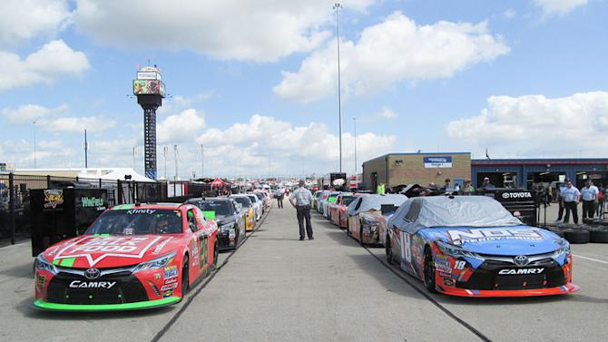 NASCAR is fueled by gasoline, tech, and capitalism