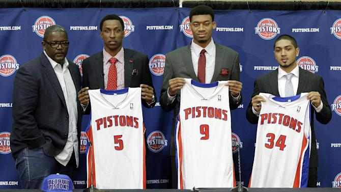 Pistons Draft Basketball