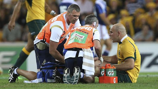 Rugby - Australia captain Moore ruled out for rest of season