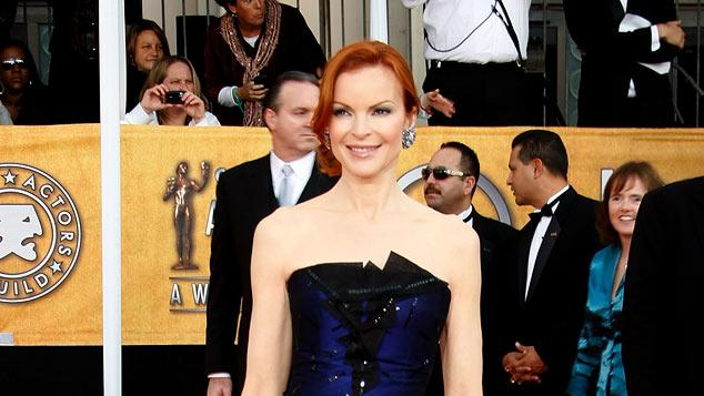 Marcia Cross arrives at the 15th Annual Screen Actors Guild Awards held at the Shrine Auditorium on January 25, 2009 in Los Angeles, California.