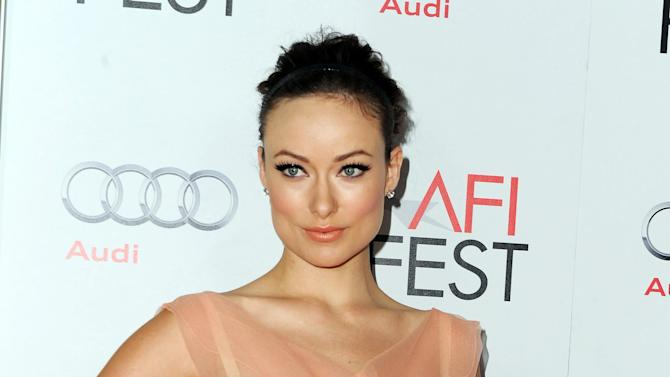 "Olivia Wilde arrives at the AFI special screening of ""Butter"" at Grauman's Chinese Theater, Sunday, Nov. 6, 2011, in Los Angeles. (AP Photo/Katy Winn)"