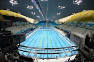 The Aquatics Centre where the London 2012 Olympic swimming and diving events are taking place. Sixteen-year-old Chinese swimming prodigy Ye Shiwen categorically denied doping on Monday after British media raised suspicions about her world record-breaking start to the London Olympics
