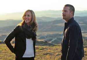 Kim Raver and Chris O'Donnell | Photo Credits: Monty Brinton/CBS