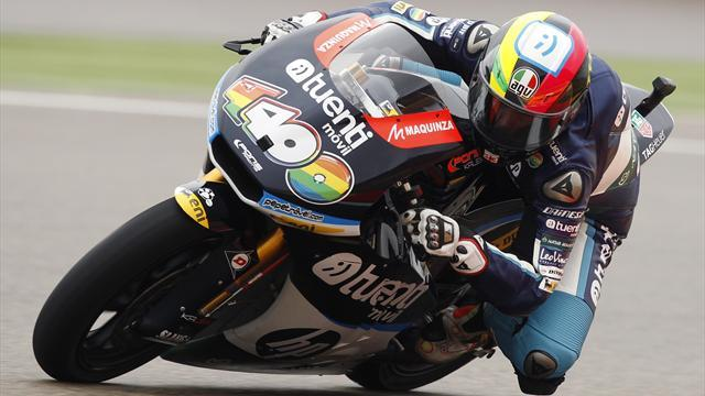 Motorcycling - Moto2: Espargaro gets Valencia pole despite crash