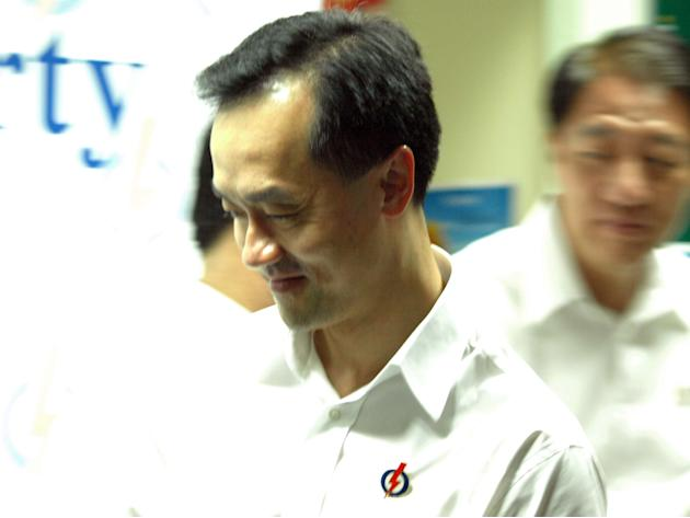 Dr Koh upon receiving news of the defeat.