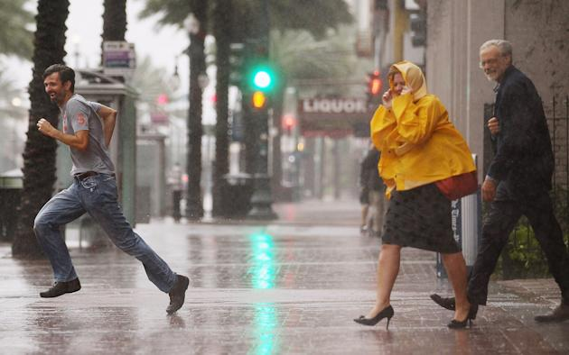 New Orleans,US Gulf Coast Prepare For Approaching Isaac