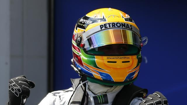 Formula 1 - Hamilton stuns Vettel to take pole in Hungary