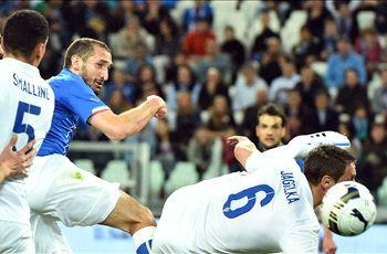 Chiellini and Buffon leap to Conte's aid but Italy's shortcomings are laid bare