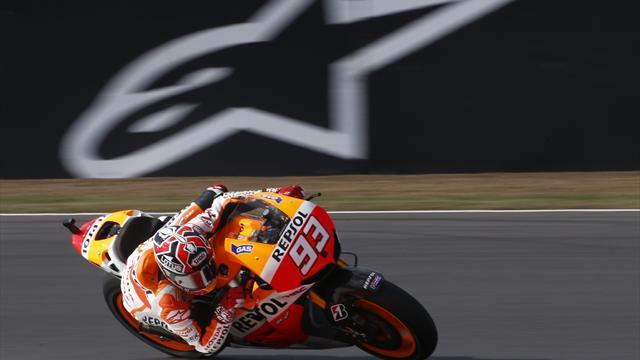 Italy Grand Prix - Marquez expects to be fully fit in Italy