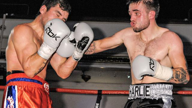 Boxing - Solid displays from a couple of Charlies on Hellraiser's Camden Card