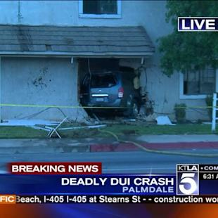 Palmdale Teen Dies After Vehicle Slams Into Her Home