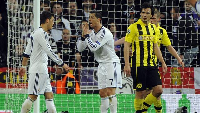 Champions League - Statistics on Dortmund's aggregate win over Real Madrid