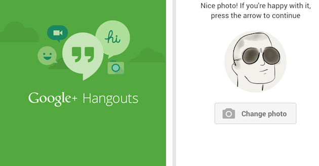 Google Updates Hangouts App For Android image Google Hangouts Android App