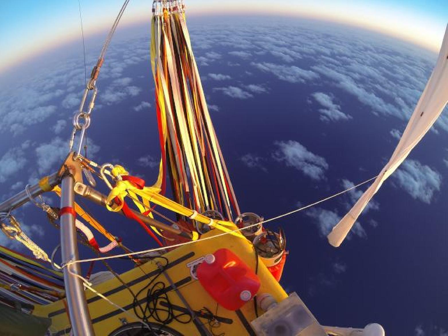 Balloon crew shifting course toward Mexico due to weather