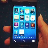 RIM's first BlackBerry 10 smartphone revealed in photos and on video