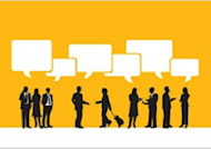 3 Reasons to Share Numbers in Your Enterprise Social Network image people talk