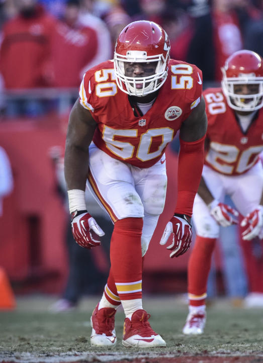 AP Source: Chiefs place franchise tag on All-Pro Houston