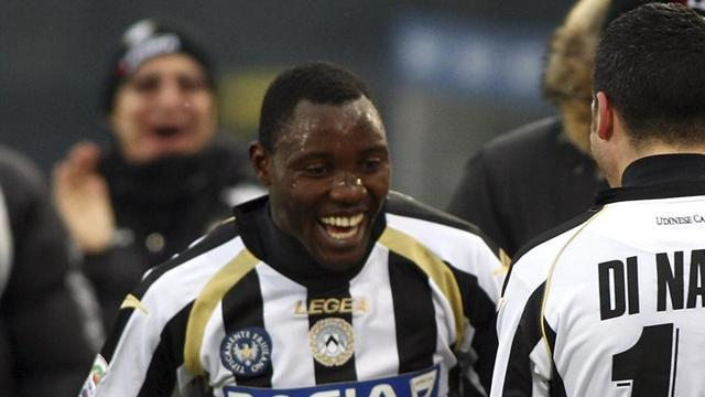 Serie A - Juventus sign Ghana midfielder Asamoah from Udinese