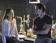"""This image released by The CW shows Kristin Kreuk as Catherine Chandler, left, and Jay Ryan as Vincent in a scene from the pilot episode of """"Beauty and the Beast,"""" premiering Oct. 11, 2012 at 9p.m. EST on the CW. (AP Photo/The CW, Ben Mark Holzberg)"""