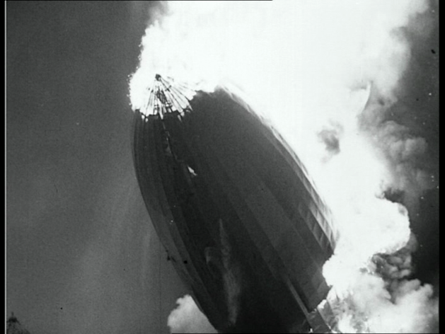 Watch the raw footage of the famous Hindenburg disaster, with no sound.