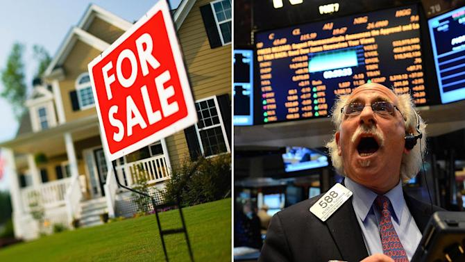 Where to put your cash A house or a stock
