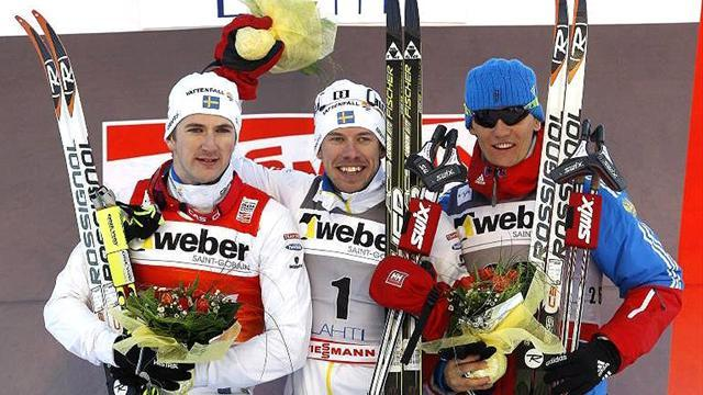 Cross-Country Skiing - Joensson wins Lahti sprint