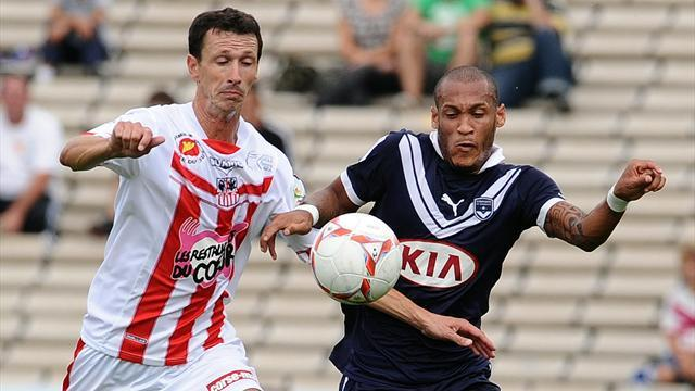 Ajaccio equaliser condemns Bordeaux to another draw