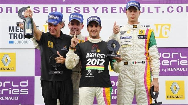 Megane Trophy - Costa praises team after victory