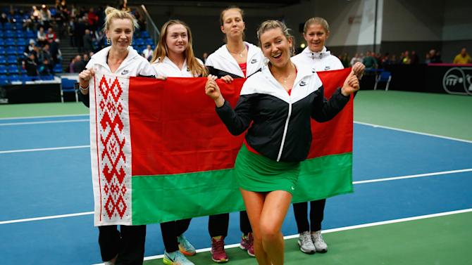 Fed Cup Europe/Africa Group One - Day Four