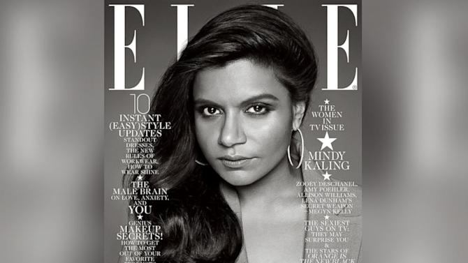 Mindy Kaling Defends Elle Cover