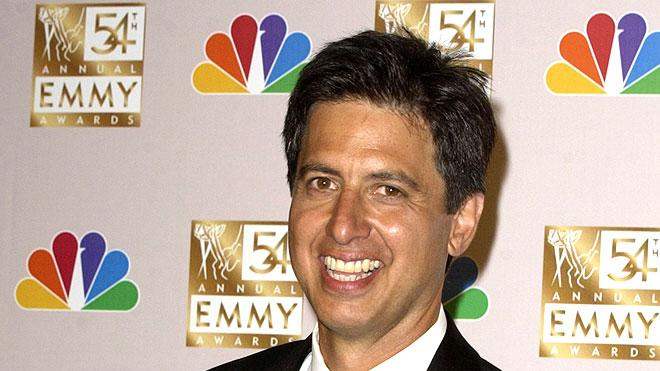 """Ray Romano, winner of Best Lead Actor in a Comedy Series for """"Everybody Loves Raymond"""" at the 54th Annual Emmy Awards."""