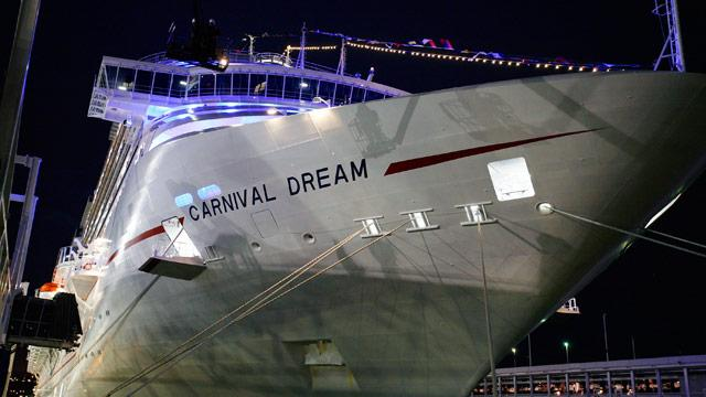 Carnival Dream Generator Malfunction Cuts Cruise Short