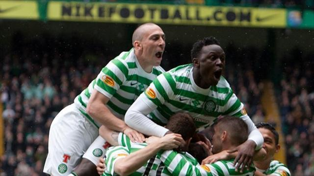 Football - Celtic thrash St Johnstone