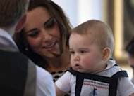 Prince George Can't Stop Adoring Kate Middleton at His First Royal Engagement in New Zealand