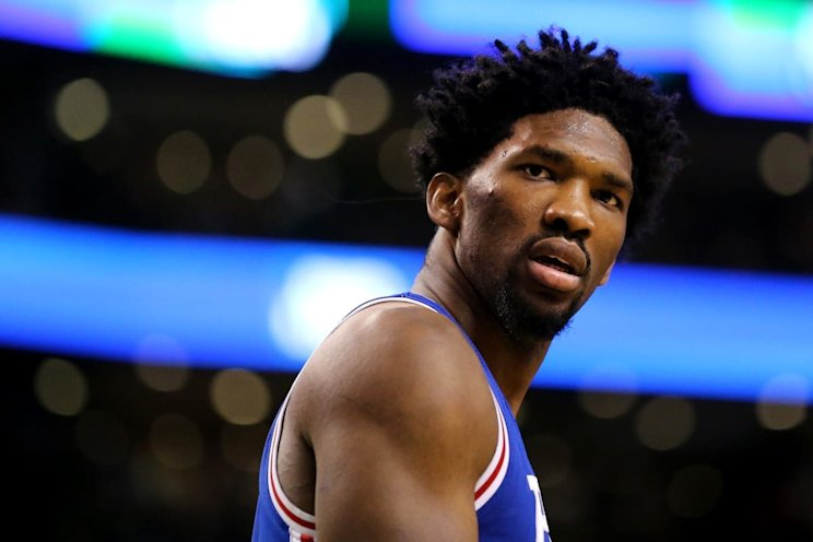 Joel Embiid will remain on a minutes restriction, whether he likes it or not. (Getty Images)