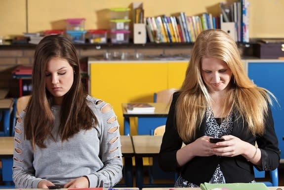 Teens' Texts Predict Bad Behavior