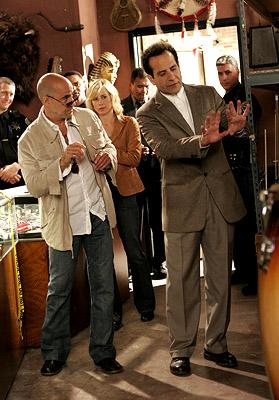 Stanley Tucci, Traylor Howard and Tony Shalhoub USA Network's Monk