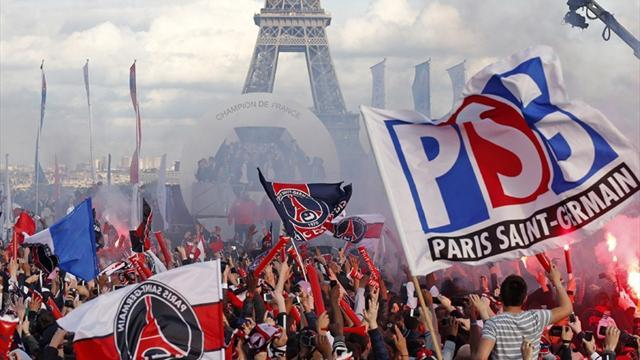 Ligue 1 - 30 injured as violence cuts short PSG's title celebrations