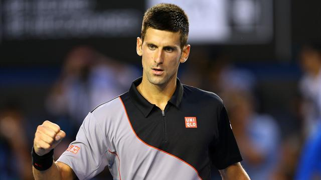 Australian Open - Djokovic eases through first round in Melbourne