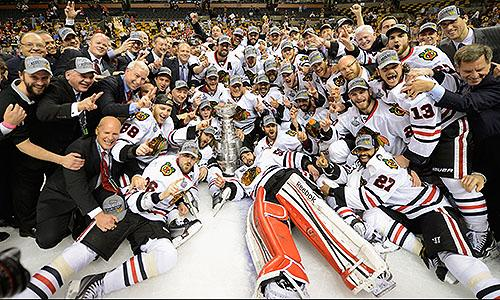 2013 Stanley Cup champions: Chicago Blackhawks