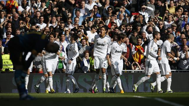 Spanish Liga - Madrid fringe players hailed after win over Barca