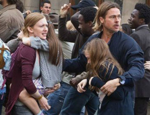 CinemaCon: Brad Pitt Battles Zombie Pandemic in 'World War Z' Sneak Peek