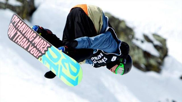 Snowboard - Morgan ready to have some fun, but after the Olympics